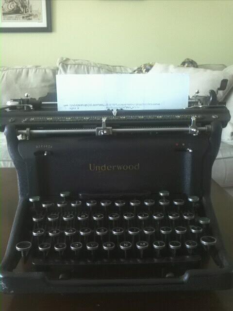 A 1943 Underwood Noiseless